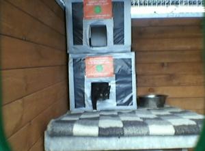 domki dla kotow